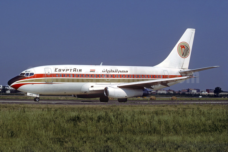 Egypt Air Boeing 737-2N7 SU-GAN (msn 21226) LIN (Christian Volpati Collection). Image: 932075.