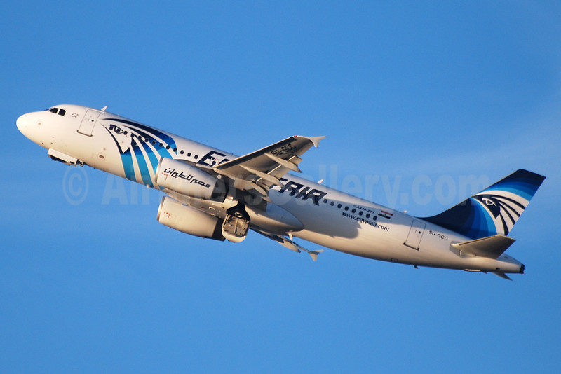 EgyptAir Airbus A320-232 SU-GCC (msn 2088) BRU (Karl Cornil). Image: 933001.