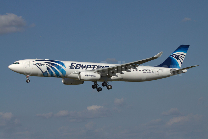 EgyptAir Airbus A330-343X F-WWKQ (SU-GDS) (msn 1143) TLS (Clement Alloing). Image: 907674.