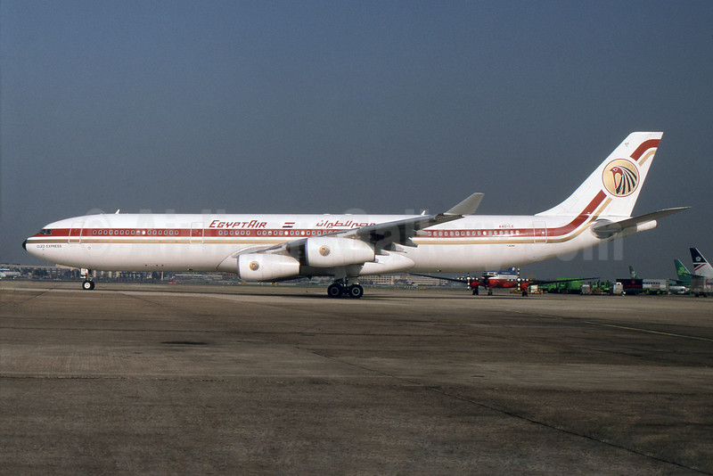 "Named ""Cleo Express"", leased from Gulf Air"