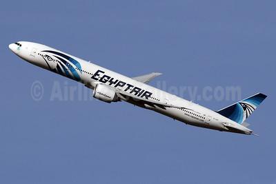 EgyptAir Boeing 777-36N ER SU-GDO (msn 38289) LHR (SPA). Image: 941608.
