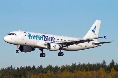 Koral Blue Airlines (flyKoralBlue.com) Airbus A320-214 SU-KBD (msn 1597) ARN (Stefan Sjogren). Image: 905687.