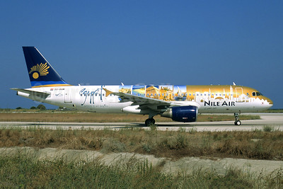 Nile Air Airbus A320-214 SU-BQM (msn 4310) (Egypt) RHO (Jacques Guillem Collection). Image: 949561.