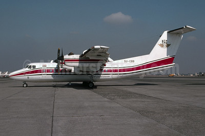 Petroleum Air Services-PAS de Havilland Canada DHC-7-102 Dash 7 SU-CBB (msn 96) (Bruce Drum Collection). Image: 955129.