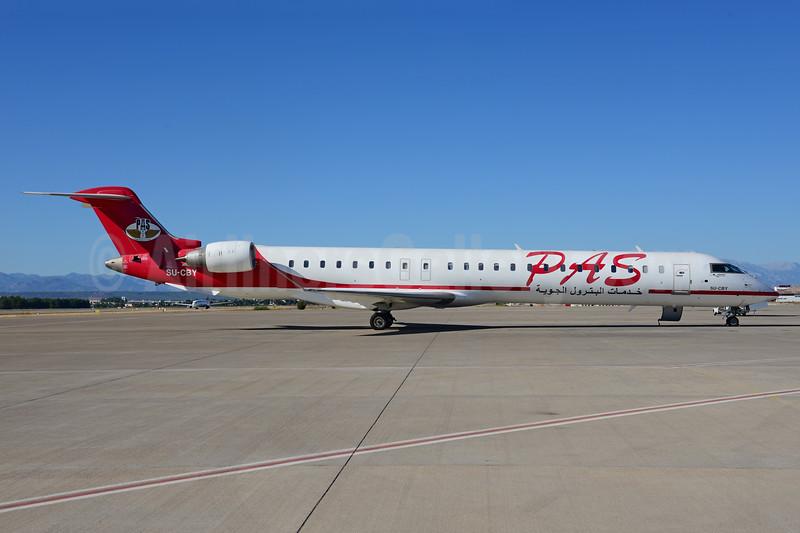 PAS-Petroleum Air Services Bombardier CRJ900 (CL-600-2D24) SU-CBY (msn 15278) AYT (Ton Jochems). Image: 913699.