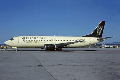 """""""Toutankhamon"""" - Airline Color Scheme - 1998"""