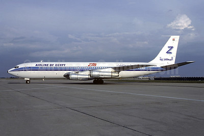 ZAS - Airline of Egypt Boeing 707-336C SU-DAD (msn 20517) ORY (Christian Volpati). Image: 945237.