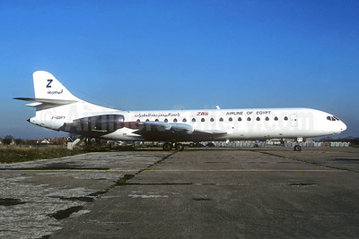 ZAS - Airline of Egypt Sud Aviation SE.210 Caravelle 10B3 F-GDFY (msn 182) ORY (Christian Volpati Collection). Image: 945238.