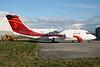 Air Annobón BAe RJ85 EI-RJS (3C-MAA) (msn E2365) DUB (Michael Kelly). Image: 922216.