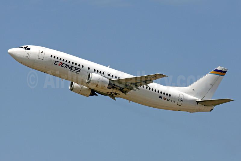 Cronus Airlines (Equatorial Guinea (Calima de Aviacion) Boeing 737-436 EC-LTC (msn 25349) PMI (Javier Rodriguez). Image: 922662.