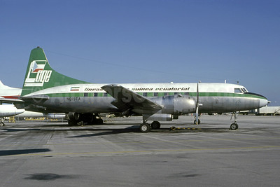 Lineas Aéreas Guinea Ecuatorial - LAGE Convair 440-80 N819TA (EC-AMT) (msn 403) MIA (Bruce Drum). Image: 105513.