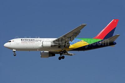 Eritrean Airlines Boeing 767-238 ER E3-AAQ (msn 23309) DXB (Antony J. Best). Image: 907608.