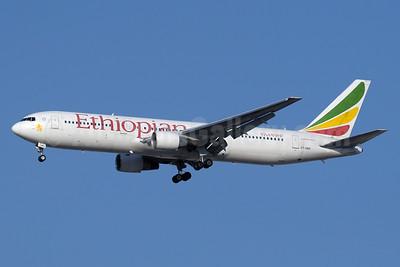 Ethiopian Airlines Boeing 767-33A ER ET-AMQ (msn 27909) DXB (Paul Denton). Image: 934665.