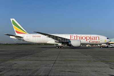 Ethiopian Cargo (Ethiopian Airlines) Boeing 777-F6N ET-APU (msn 41817) BRU (Ton Jochems). Image: 937475.