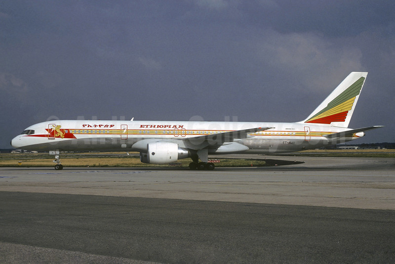 Ethiopian Airlines Boeing 757-260 ET-AJX (msn 25014) (Christian Volpati Collection). Image: 934667.