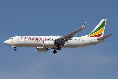 Ethiopian Airlines Boeing 737-860 WL ET-APF (msn 40961) DXB (Paul Denton). Image: 911894.