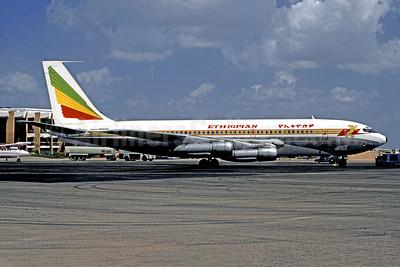 Ethiopian Airlines Boeing 720-024B ET-AFK (msn 18417) JIB (Jacques Guillem). Image: 954927.