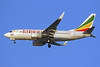 Ethiopian Airlines Boeing 737-760 ET-ALM (msn 33765) (Ethiopia's Millenium) DXB (Konstantin von Wedelstaedt). Image: 900354.