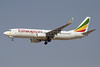 Ethiopian Airlines Boeing 737-8HO WL ET-AOB (msn 37937) DXB (Paul Denton). Image: 911484.