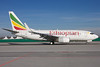 Ethiopian Airlines Boeing 737-760 ET-ALM (msn 33765) MUC (Arnd Wolf). Image: 906019.