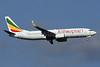 Ethiopian Airlines Boeing 737-860 WL ET-AQO (msn 40968) IAD (Brian McDonough). Image: 927617.
