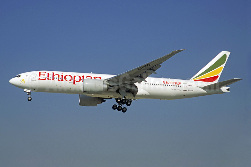 Ethiopian Airlines Boeing 777-260 LR ET-ANO (msn 40771) DXB (Christian Volpati). Image: 908820.