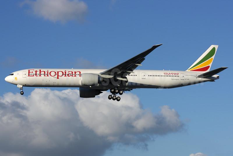 Ethiopian Airlines Boeing 777-360 ER ET-ASL (msn 44551) LHR (Antony J. Best). Image: 932419.