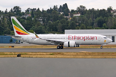 ET-AVM - The first MAX 8 for Ethiopian Airlines