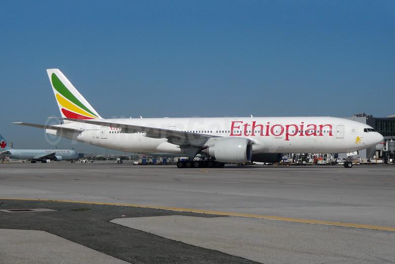 Ethiopian Airlines Boeing 777-260 LR ET-AQL (msn 43814) YYZ (TMK Photography). Image:  929186.