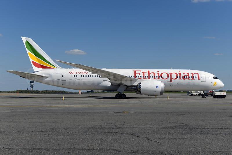 Ethiopian Airlines Boeing 787-8 Dreamliner ET-ARF (msn 34752) BRU (Ton Jochems). Image: 927289.