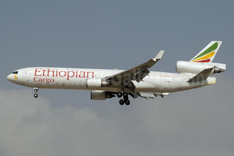 Ethiopian Cargo (Ethiopian Airlines) McDonnell Douglas MD-11F ET-AML (msn 48758) DXB (Paul Denton). Image: 922007.