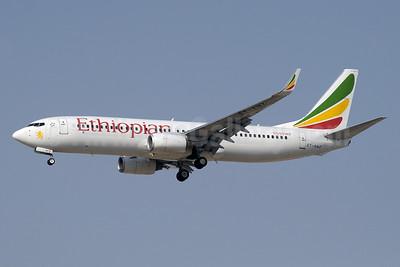 Ethiopian Airlines Boeing 737-8BK WL ET-AMZ (msn 29646) DXB (Paul Denton). Image: 934666.