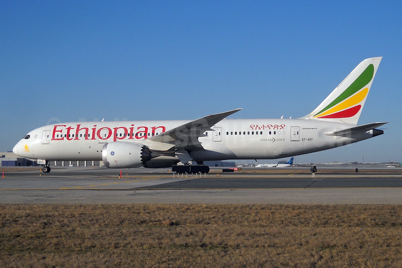 Ethiopian Airlines Boeing 787-8 Dreamliner ET-AOT (msn 34748) YYZ (TMK Photography). Image: 933917.