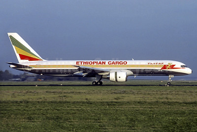 Ethiopian Cargo (Ethiopian Airlines) Boeing 757-260PF ET-AJS (msn 24845) MXP (Christian Volpati Collection). Image: 937474.
