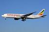 Ethiopian Airlines Boeing 777-260 LR ET-ANR (msn 40774) LHR (SPA). Image: 925943.