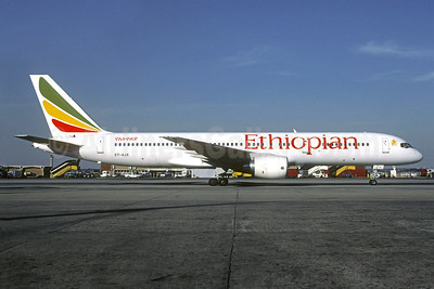 Ethiopian Airlines Boeing 757-260 ET-AJX (msn 25014) JNB (Christian Volpati). Image: 937472.