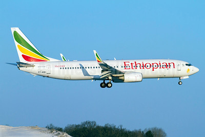 Ethiopian Airlines Boeing 737-8HO WL ET-AOB (msn 37937) ARN (Stefan Sjogren). Image: 911483.