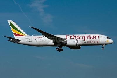 Ethiopian Airlines Boeing 787-8 Dreamliner ET-AOQ (msn 34745) BRU (Karl Cornil). Image: 931096.