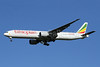 One of three new Boeing 777-300 ERs for Ethiopian Airlines