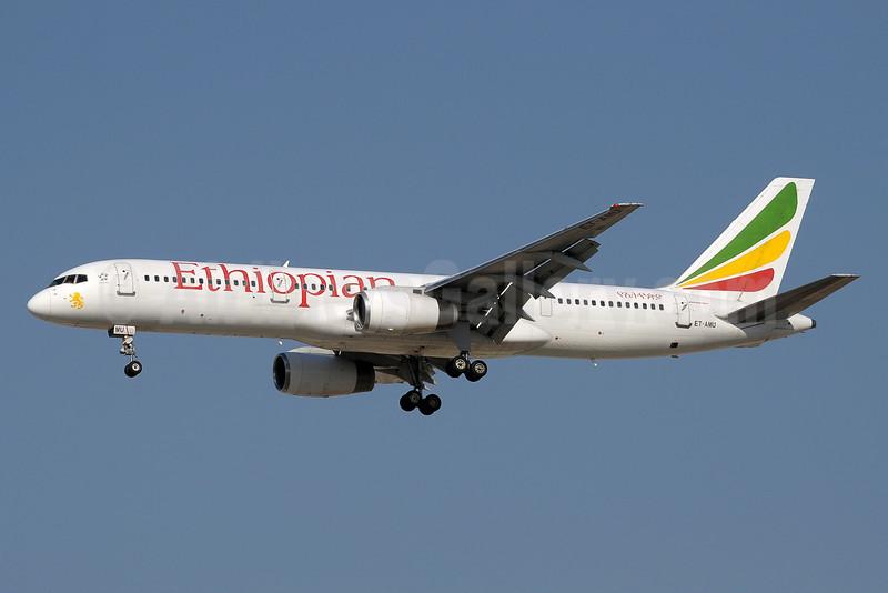 Ethiopian Airlines Boeing 757-23N ET-AMU (msn 27975) DXB (Paul Denton). Image: 903687.
