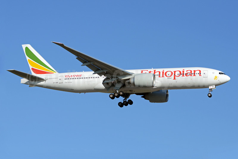 Ethiopian Airlines Boeing 777-260 LR ET-ANR (msn 40774) YYZ (TMK Photography). Image: 910457.
