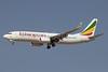 Ethiopian Airlines Boeing 737-860 WL ET-APM (msn 40962) DXB (Paul Denton). Image: 911480.