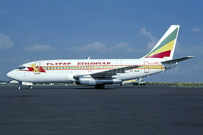 Ethiopian Airlines Boeing 737-2T4 ET-ALE (msn 23446) ADD (Jacques Guillem Collection). Image: 942925.