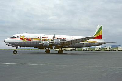 Delivered July 19, 1958, damaged beyond repair on takeoff at Asmara on October 13, 1978