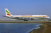 Ethiopian Cargo (Ethiopian Airlines) Boeing 707-327C ET-AIV (msn 19531) DXB (Perry Hoppe). Image: 910941.