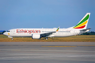 Ethiopian's first MAX 8, delivered on July 1, 2018