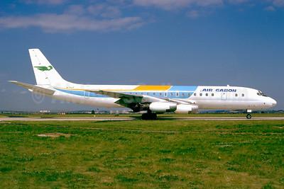 Air Gabon Douglas DC-8-33 N711LF (msn 45260) (ALM Colors) CDG (Jacques Guillem). Image: 911628.