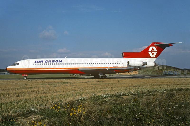 Air Gabon Boeing 727-2L8 YU-AKD (msn 21040) (Aviogenex colors) QLA (Christian Volpati Collection). Image: 925892.