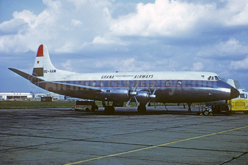 Airline Color Scheme - Introduced 1958
