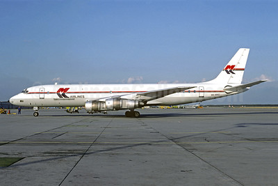 MK Airlines McDonnell Douglas DC-8F-55 Jet Trader 9G-MKC (msn 45692) STR (Christian Volpati Collection). Image: 920569.